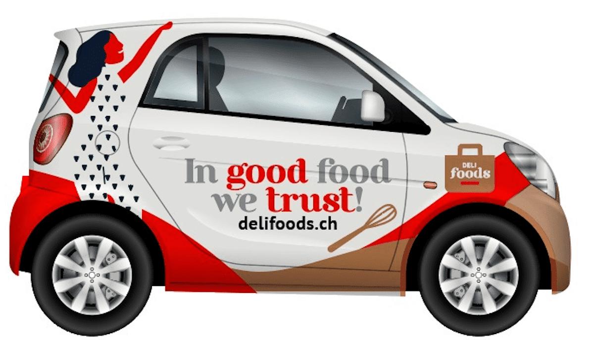 Livraison à domicile ou au bureau rapide avec Delifoods